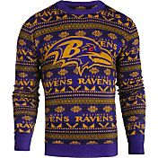 KLEW Men's Baltimore Ravens Aztech Ugly Sweater
