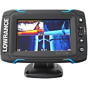 Lowrance Elite-5 Ti Fish Finder/Chartplotter Combo with Mid/High/DownScan