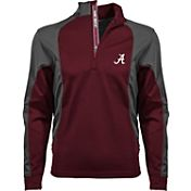 Levelwear Men's Arkansas Razorbacks Cardinal Freeport Quarter-Zip