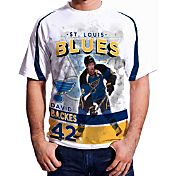 Levelwear Men's St. Louis Blues David Backes #42 Center Ice White T-Shirt