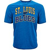 Levelwear Men's St. Louis Blues Performance Arch Royal T-Shirt