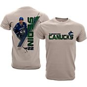 Levelwear Youth Vancouver Canucks Daniel Sedin Charcoal Spectrum T-Shirt