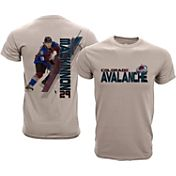 Levelwear Youth Colorado Avalanche Nate MacKinnon #29 Charcoal Spectrum T-Shirt
