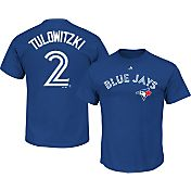 Majestic Men's Toronto Blue Jays Troy Tulowitzki #2 Royal T-Shirt