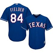 Majestic Men's Replica Texas Rangers Prince Fielder #84 Cool Base Alternate Royal Jersey