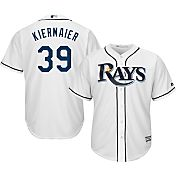 Majestic Men's Replica Tampa Bay Rays Kevin Kiermaier #39 Cool Base Home White Jersey