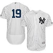 Majestic Men's Authentic New York Yankees Masahiro Tanaka #19 Home White Flex Base On-Field Jersey