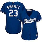 Majestic Women's Replica Los Angeles Dodgers Adrian Gonzalez #23 Cool Base Alternate Royal Jersey