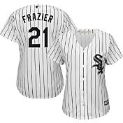 Majestic Women's Replica Chicago White Sox Todd Frazier #21 Cool Base Home White Jersey