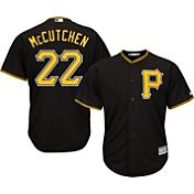 Majestic Youth Replica Pittsburgh Pirates Andrew McCutchen #22 Cool Base Alternate Black Jersey