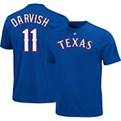 Majestic Youth Texas Rangers Yu Darvish #11 Royal T-Shirt