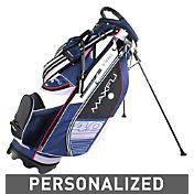 Maxfli U/Series 4.0 Personalized Stand Bag – Black/Blue/White