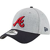 New Era Men's Atlanta Braves 39Thirty Change Up Redux Grey Flex Hat