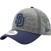 New Era Men's San Diego Padres 39Thirty Clubhouse Grey/Navy Flex Hat