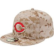 New Era Men's Cincinnati Reds 59Fifty Alternate 2 Camo Authentic Hat