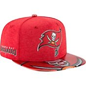 New Era Men's Tampa Bay Buccaneers 2017 NFL Draft 9Fifty Adjustable Red Hat