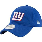 New Era Men's New York Giants Perf Shore 9Twenty Blue Adjustable Hat