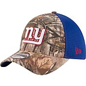 New Era Men's New York Giants Real Tree Neo 39Thirty Camouflage Flex Hat