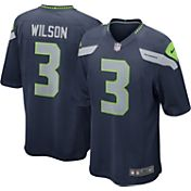 Nike Boys' Seattle Seahawks Russell Wilson #3 Home Game Jersey