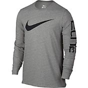 Nike Men's Elite Long Sleeve Basketball Shirt