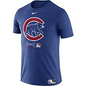 Nike Men's Chicago Cubs Dri-FIT Authentic Collection Royal T-Shirt