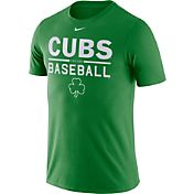 Nike Men's Chicago Cubs Practice Green T-Shirt