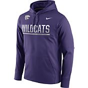 Nike Men's Kansas State Wildcats Purple Circuit PO Hoodie