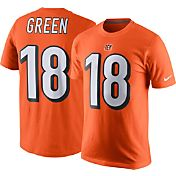 Nike Men's Cincinnati Bengals A.J. Green #18 Orange T-Shirt