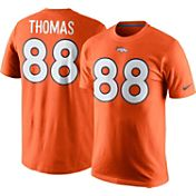 Nike Men's Denver Broncos Demaryius Thomas #88 Pride Orange T-Shirt