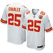 Nike Men's Away Game Jersey Kansas City Chiefs Jamaal Charles #25