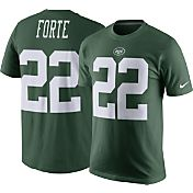 Nike Men's New York Jets Matt Forte #22 Pride Green T-Shirt