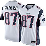 Nike Men's Away Limited Jersey New England Patriots Rob Gronkowski #87