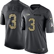 Nike Men's Home Limited Jersey Seattle Seahawks Russell Wilson #3 Salute to Service 2016