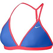 Nike Women's Core Solid T-Back Swimsuit Top