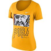 Nike Women's Pittsburgh Pirates Gold Scoop Neck T-Shirt