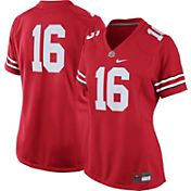 Nike Women's Ohio State Buckeyes #16 Scarlet Game Football Jersey