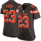 Nike Women's Home Game Jersey Cleveland Browns Joe Haden #23