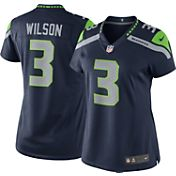 Nike Women's Home Limited Jersey Seattle Seahawks Russell Wilson #3