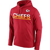 Nike Youth Kansas City Chiefs Circuit Red Pullover Hoodie