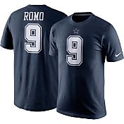 Nike Youth Dallas Cowboys Tony Romo #9 Navy T-Shirt