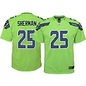 Nike Youth Color Rush 2016 Game Jersey Seattle Seahawks Richard Sherman #25