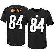 Nike Youth Pittsburgh Steelers Antonio Brown #84 Black T-Shirt