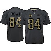 Nike Youth Home Game Jersey Pittsburgh Steelers Antonio Brown #84 Salute to Service 2016