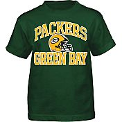 NFL Team Apparel Boys' Green Bay Packers Play Action T-Shirt