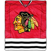 Northwest Chicago Blackhawks Raschel Blanket