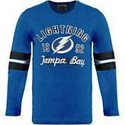 Old Time Hockey Youth Tampa Bay Lightning Dax Royal Long Sleeve T-Shirt