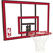 Spalding 44' Polycarbonate Backboard and Slam Jam Rim Combo