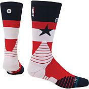Stance Washington Wizards On Court Crew Navy Socks