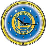 Trademark Games Golden State Warriors 14'' Neon Clock