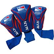 Team Golf New York Rangers 3-Pack Contour Headcovers